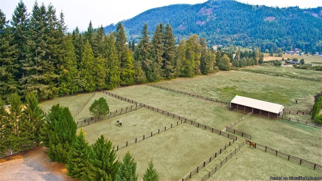 Horse Property For Sale in Arlington Heights, WA