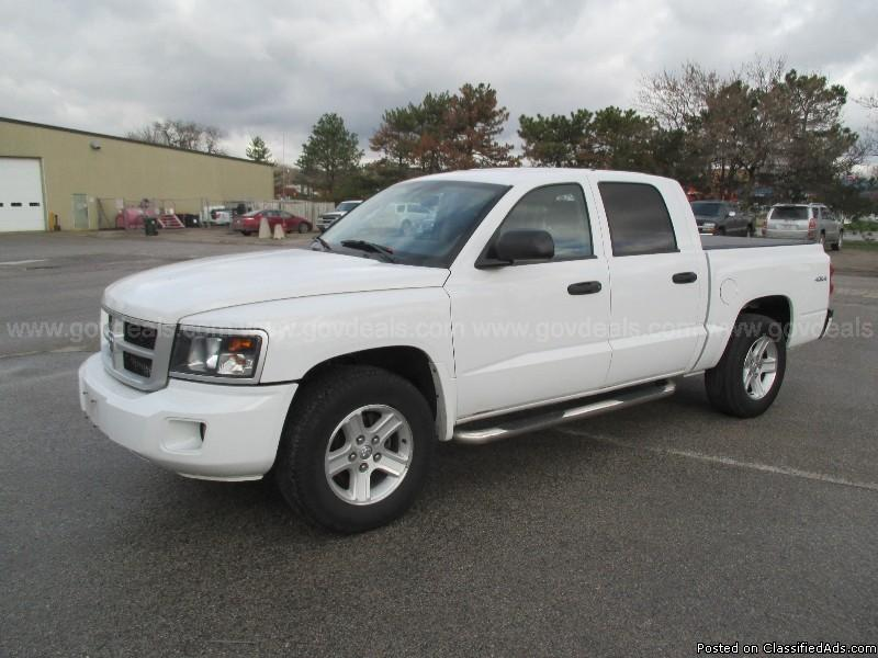 2011 Dodge Dakota Crew Cab 4x4