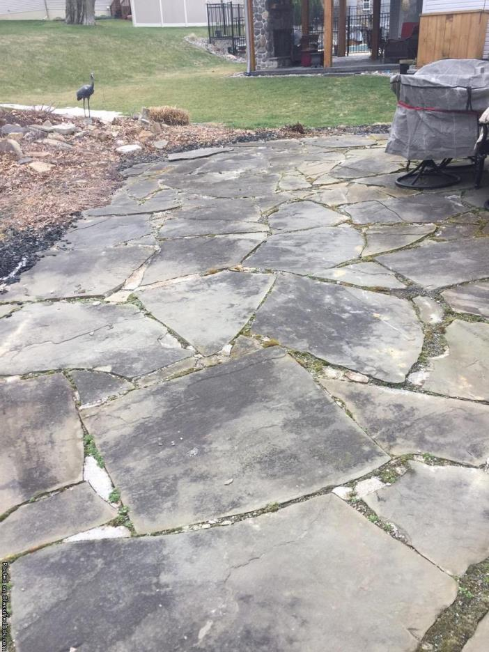Irregular cut Flagstone