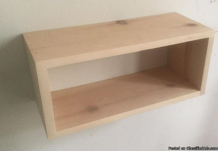 small nightstand,floating bedside table