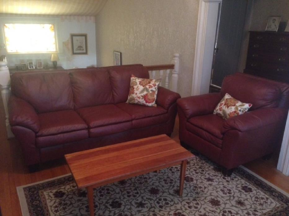 Couch and chair $250