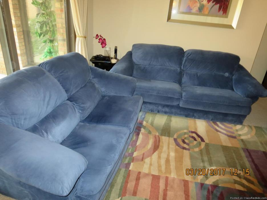 Like New - Sofa, Loveseat, and Chair for Sale