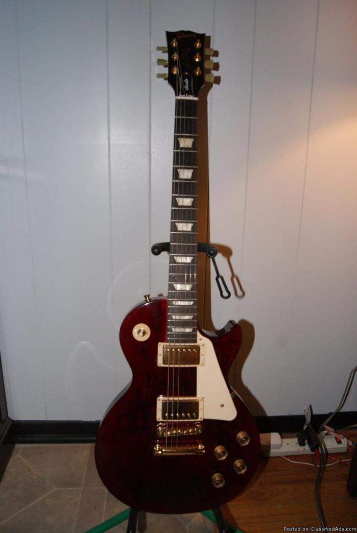 GIBSON USA 2016 LES PAUL GUITAR FOR VERY CHEAP PRICE!
