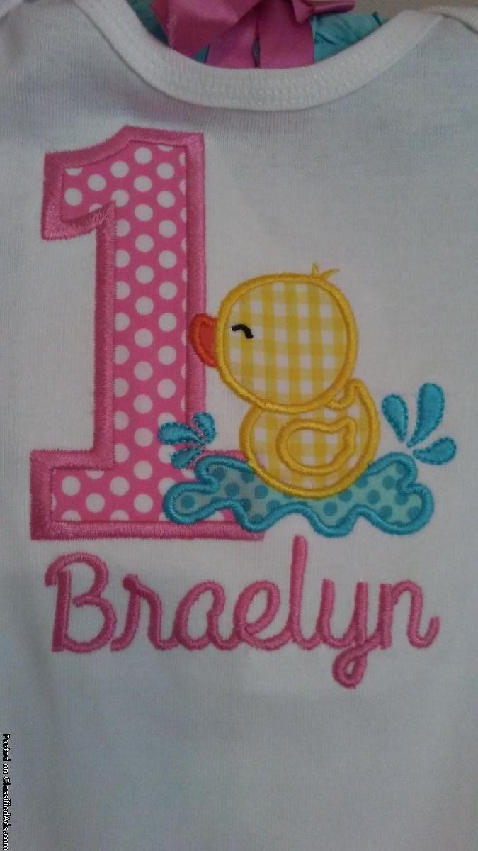 Custom Made Birthday Shirts for Kids