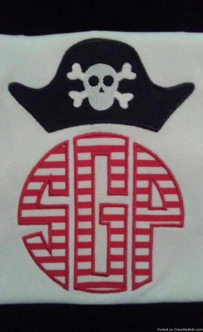 Custom Monogram Shirts