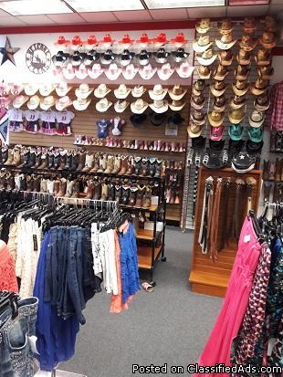 Western Wear - Huge Liquidation Sale