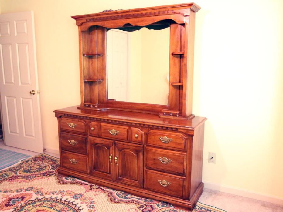 Dresser and Mirror in Master Room