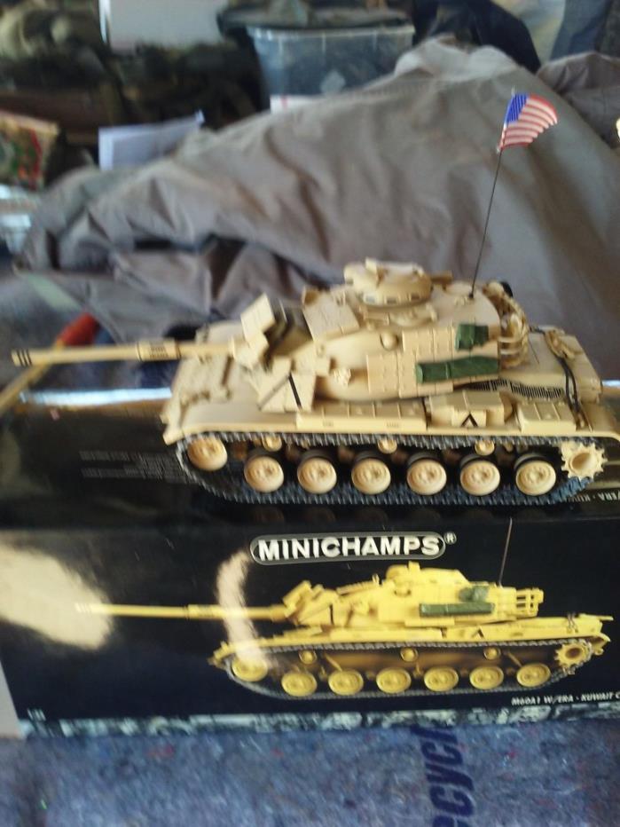 VINTAGE 1991 DIECAST M60A1 TANK