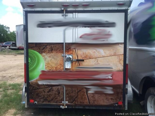 Najo Enclosed Trailer w/ TMT 3000 Carpet Extractor RTR#6073555