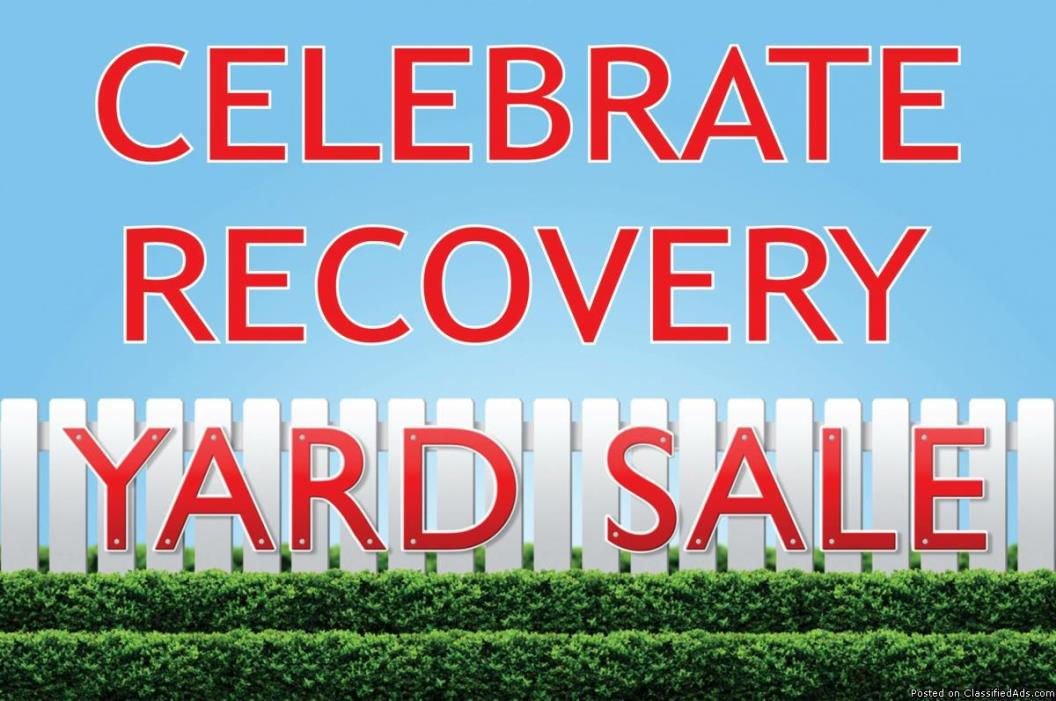 Celebrate Recovery Yard Sale