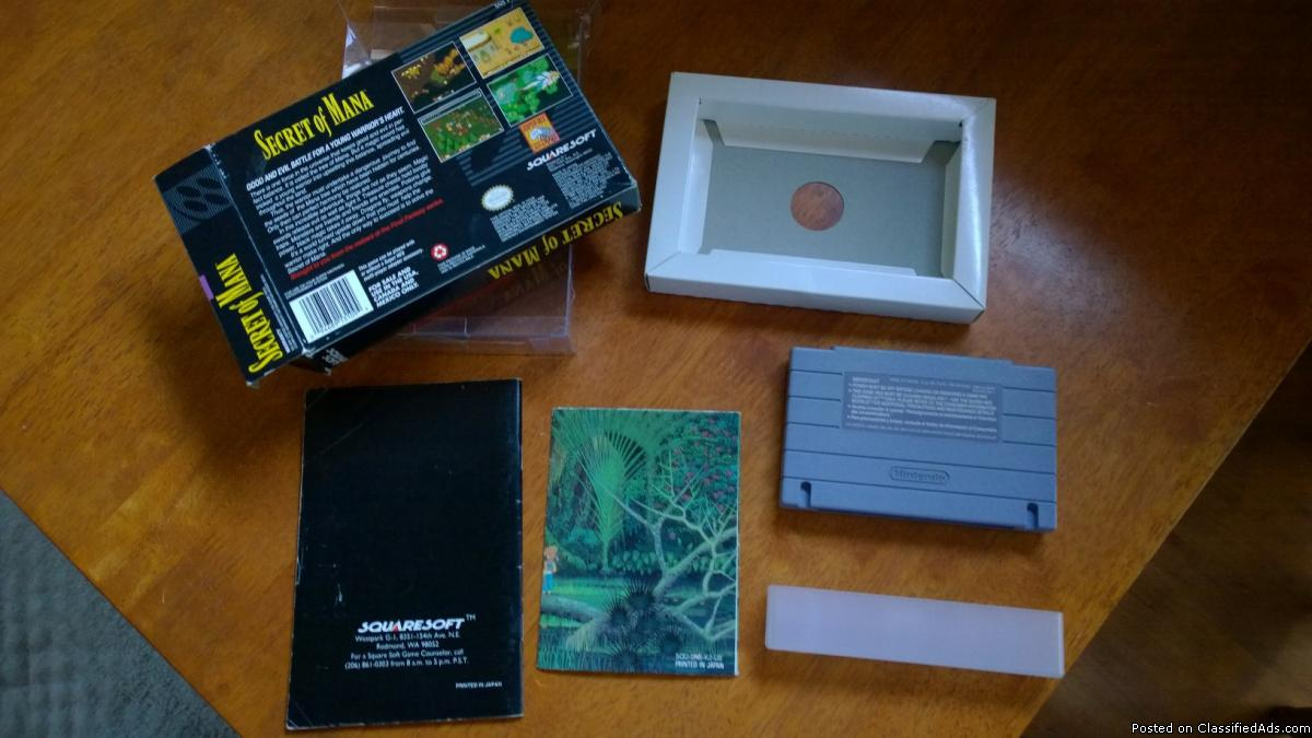 Secret of Mana SNES, VERY NICE!