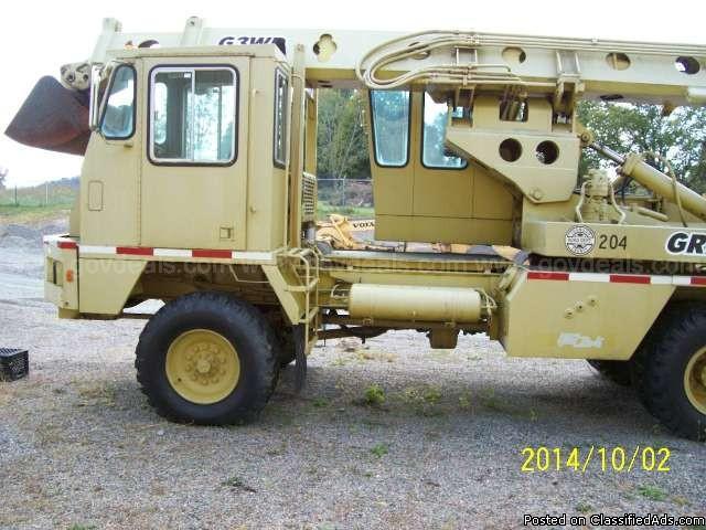 1989 Gradall G3WD Excavator