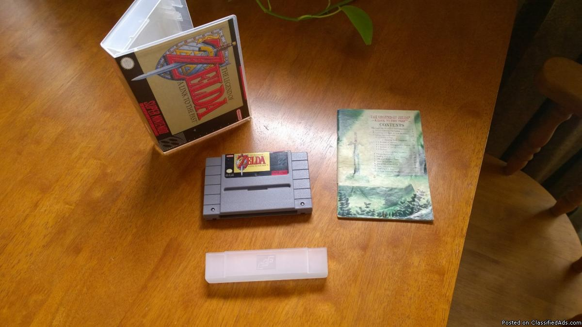 Legend of Zelda A Link to the Past SNES