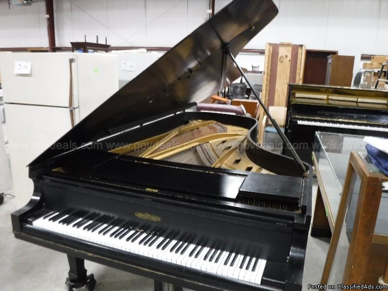 Full Size Chickering Concert Grand Piano (Best estimate: Made in 1933).