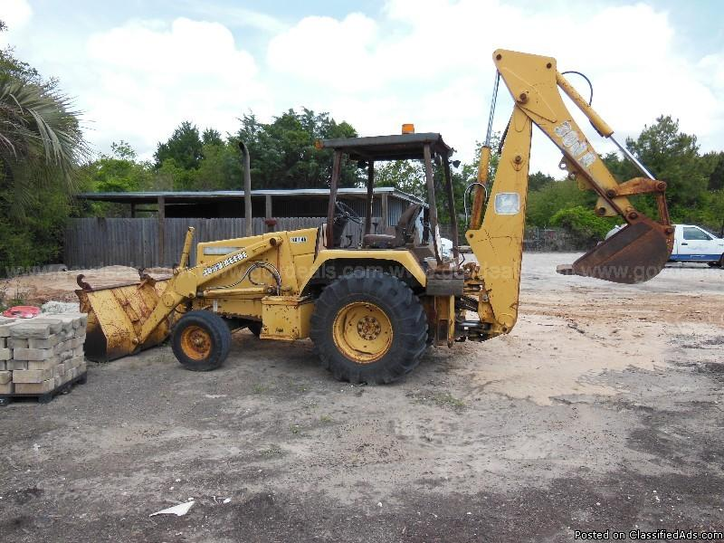 John Deere 300D Front End Loader