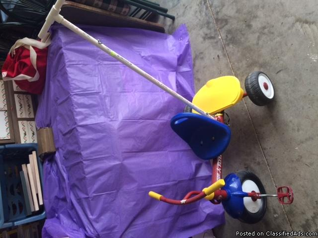 tricycle radio flyer great condition