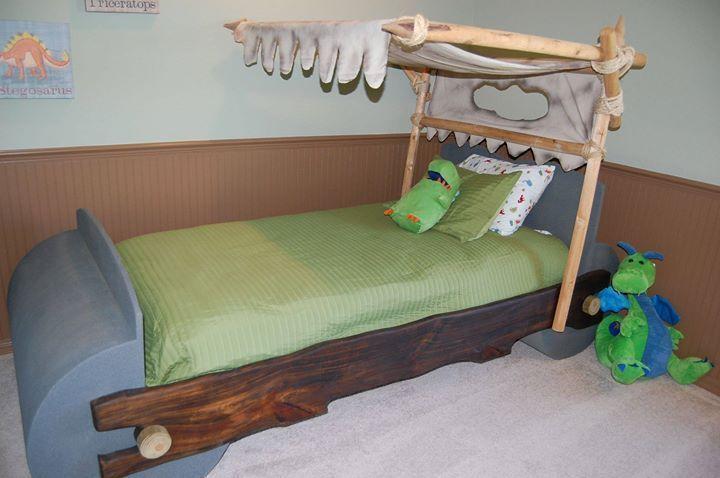 FLINTSTONE TWIN BED