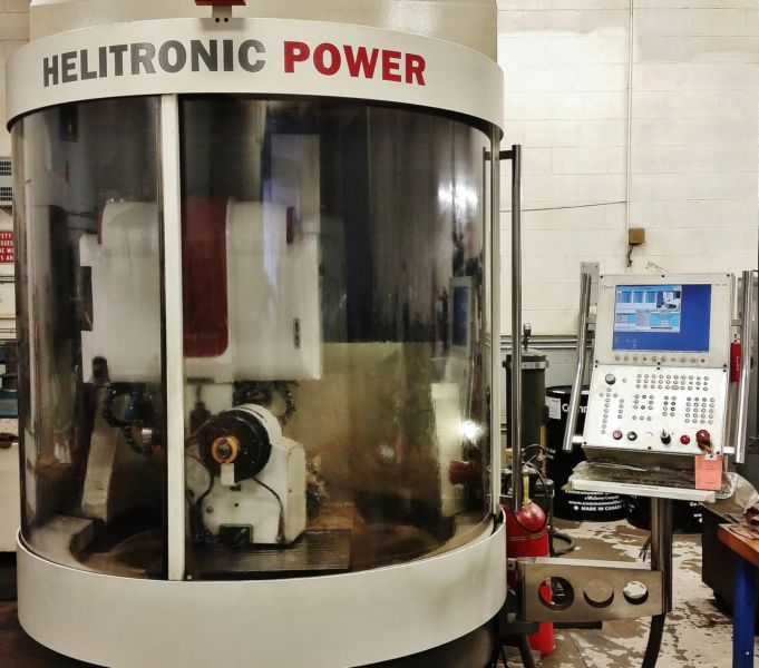2005 Walter Helitron HMC600 5 Axis CNC Tool & Cutter Grinder * Beauty!