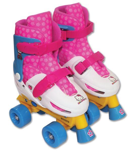 Brand New Hello Kitty quad roller skates