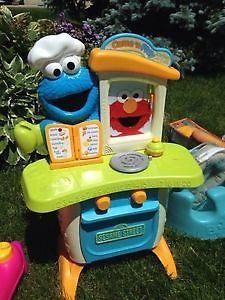 Sesame Street kitchen