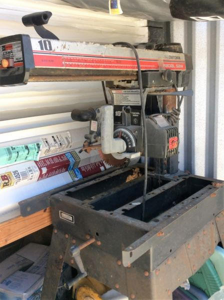 CRAFTSMAN 10 IN RADIAL ARM SAW