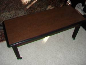 Commercial Rolling Table/Bench