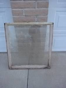 Old window frame (nw tucson)