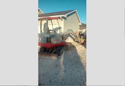 Takeuchi 125 Mini Excavator