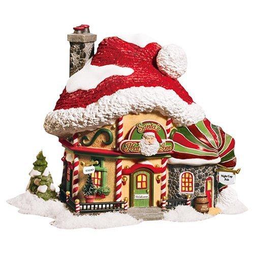 Department 56 North Pole Santas Hat Inn