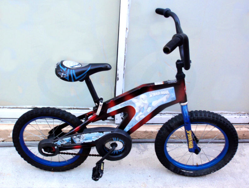 SPIDERMAN BMX 16