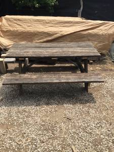 Reclaimed Barn Wood Picnic Table (Greencastle)