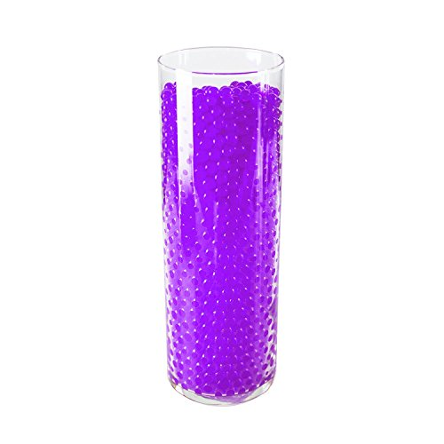 1 Pound Bag of Purple Water Gel Pearls Beads for Vase Filler, Home Decoration