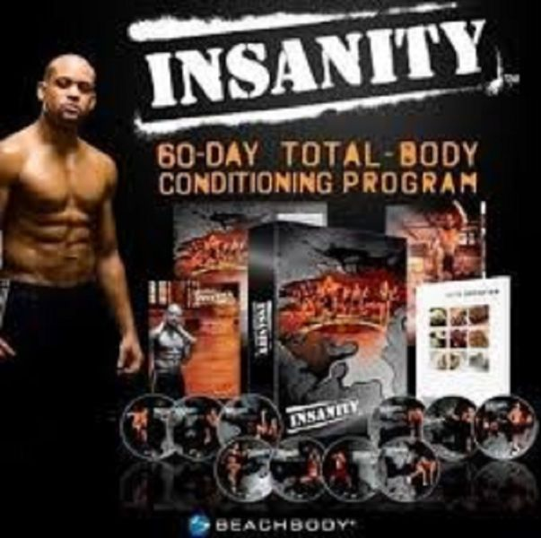 Beachbody Shaun T's Insanity workout fitness: Videos of 13 DVDs