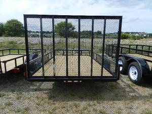 2008 American Carry-On Utilty Trailer 6.5 X 12' 2900 G V W R (Broomall)