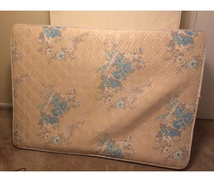 Full size mattress and boxspring - price negotiable