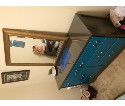 Antique dresser and mirror in excellent shape - negotiable