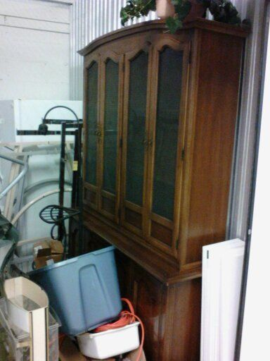 Drexel Antique China Cabinet