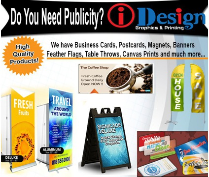 Business Cards, Signs
