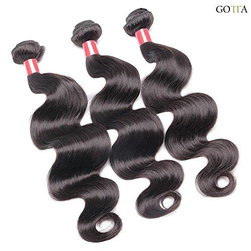 Gotta® Brazilian Hair Weave Bundles Unprocessed Human Hair Extensions Cheap