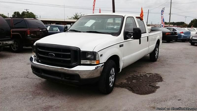 No Credit Check!!! - 2002 F - 250 Crew Cab