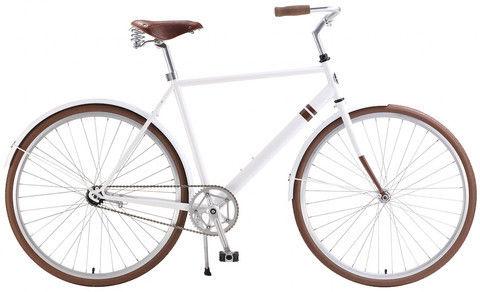 New Solè leather seat bike