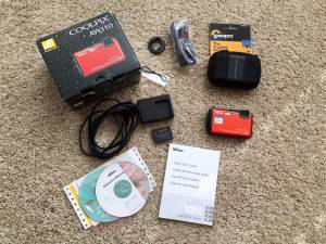 Nikon Coolpix AW110 16mp digital camera GPS/WiFi, Rugged