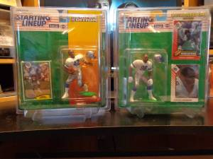 Seattle Seahawks Starting Lineup figures (kennewick)