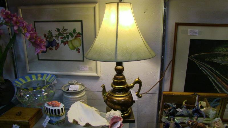 Teapot Lamp & Shade