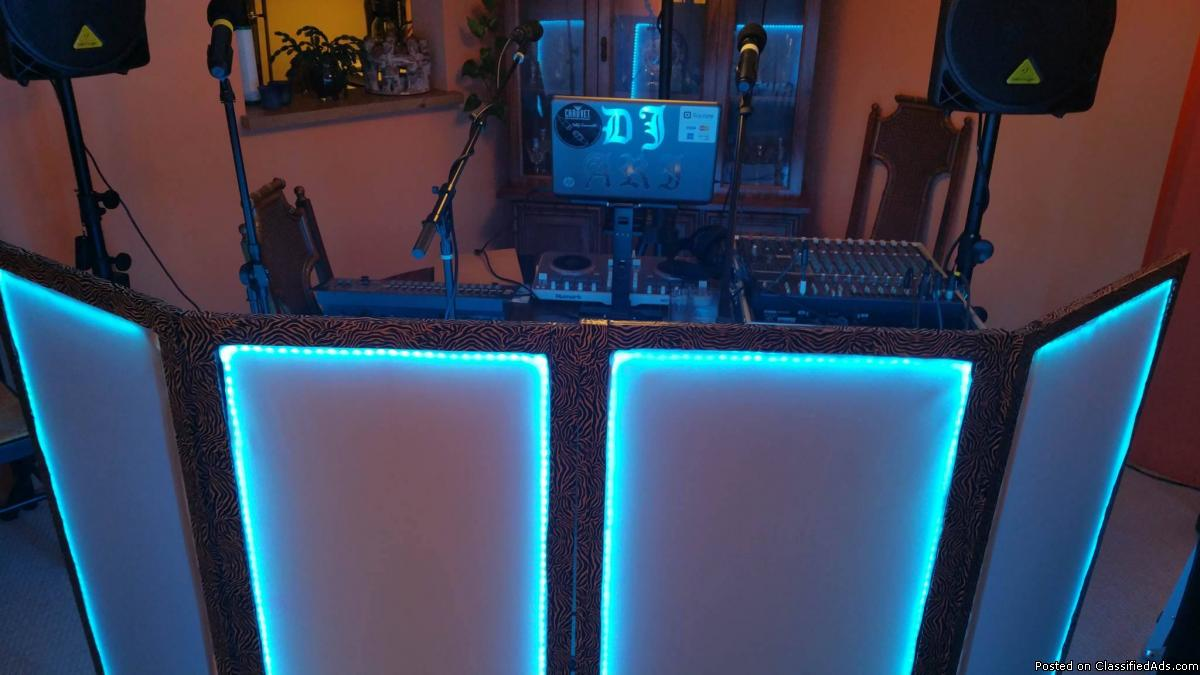 Full Set of Professional DJ Equipment-Like New Condition