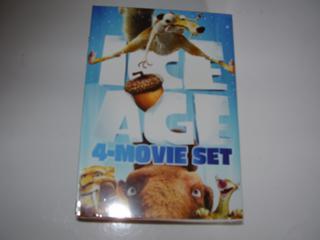 Ice Age 4-Movie Set New