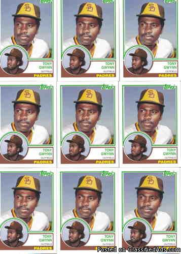 Tony Gwynn (10) 2006 Topps Rookie of the Week (Rookie Year 1983)