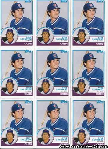 Ryne Sandberg (10) 2006 Topps Rookie of the Week (Rookie Year 1983)