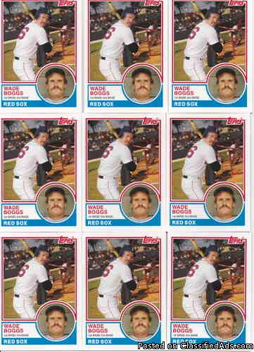 Wade Boggs (10) 2006 Topps Rookie of the Week (Rookie Year 1983)_