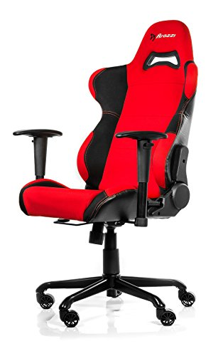 Arozzi Torretta Series Gaming Racing Style Swivel Chair, Red